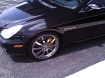 2007 Mercedes-Benz CLS55 AMG Painted Brake Calipers and Wheels